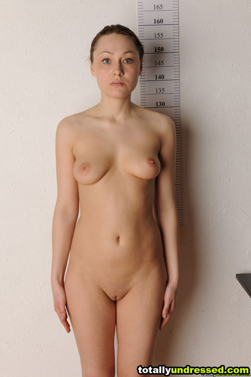 Busty blue-eyed nude fetish girl Kati at a sex attention